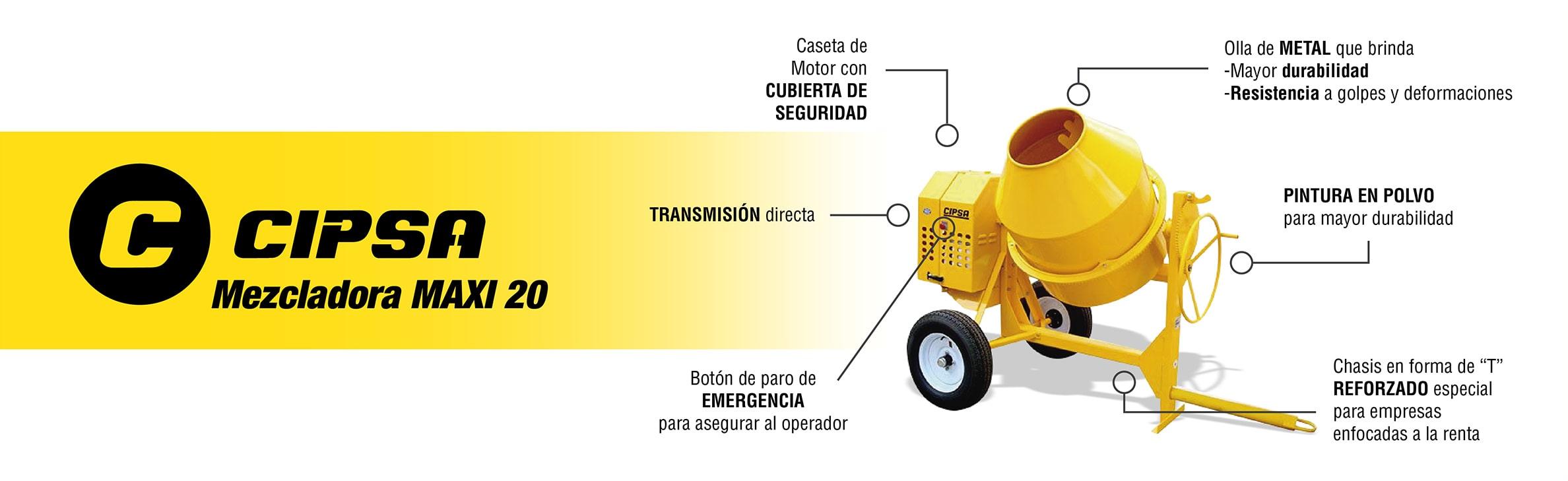 cipsa-mezcladora-maxi20-nicaragua
